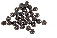 Полубусы (50 шт) 8мм Фиолетовые