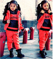 Детский теплый комплект на девочку, фото 1
