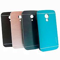 Бампер алюминиевый для Motorola Moto G2 - Motomo Line Series (разные цвета)