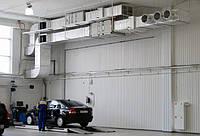 Проектирование вентиляции автосалонов и станции технического обслуживания автомобилей