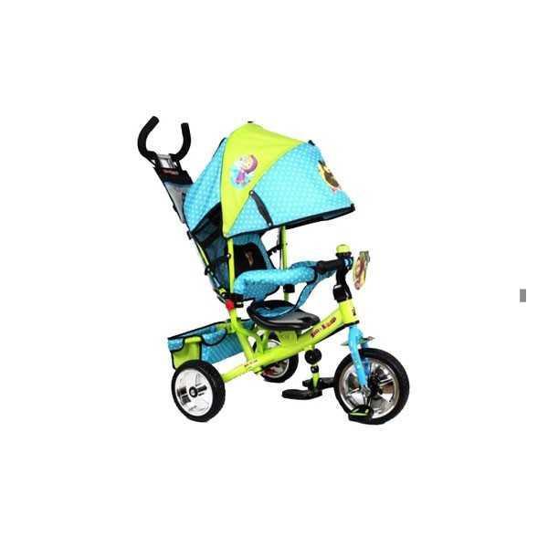 Велосипед EVA Foam с принтом любимого героя-Маша и Медведь
