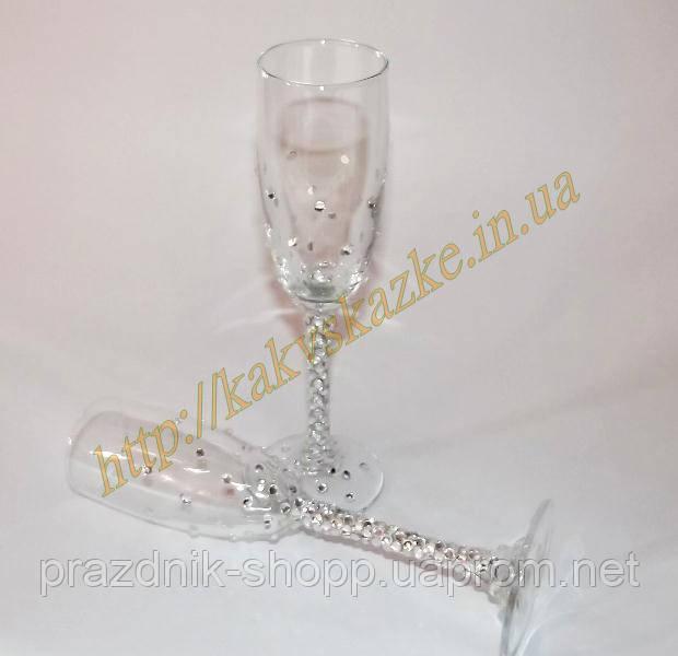Свадебные бокалы 031