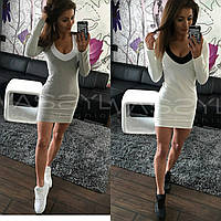 Платье с красивым декольте, фото 1
