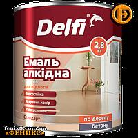 Эмаль алкидная для пола ТМ Delfi ПФ-266 (2,8кг) красно-коричневая