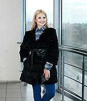 "Шубка ""Даниэла""  из кроля Рукав 7/8 модная новинка!"