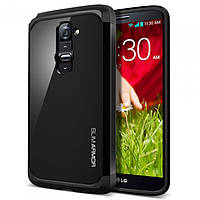 Чехол SGP Spigen Slim Armor для LG G2 D802 Smooth Black
