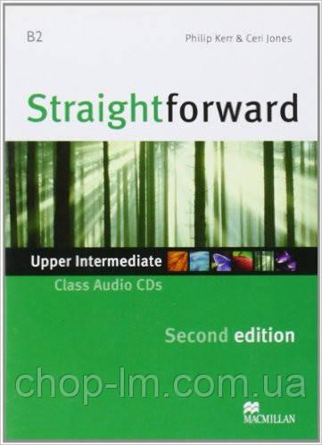 Straightforward Second Edition Upper Intermediate Class Audio CD (аудирование к уровню)