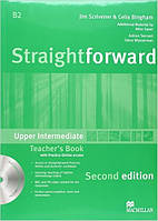 Straightforward Second Edition Upper Intermediate Teacher's Book Pack (книга для учителя с диском)