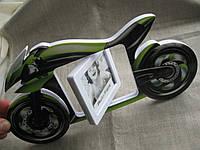 """Фоторамка объемная на подставке """"Мотоцикл"""""""
