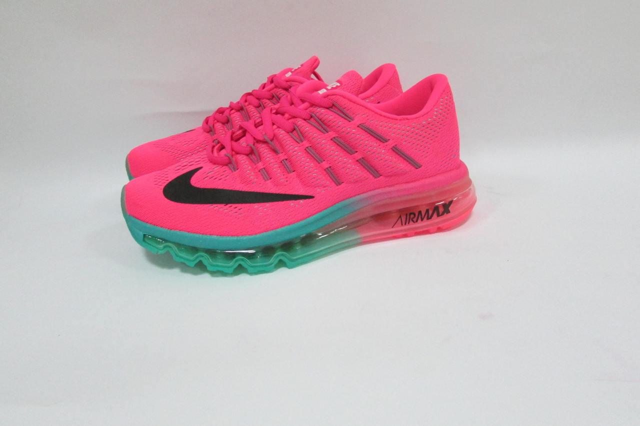 703f0f617 Кроссовки женские Nike Air Max 2016 (806771-603) розовые с бирюзовым код  0231А