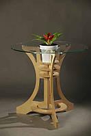 Стол для гостинной (столешница- стекло каленое)