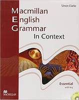 Macmillan English Grammar In Context Essential Pack with CD-ROM with Key (грамматика с ответами)
