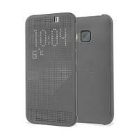 Чехол Dot View для HTC One M9 серый