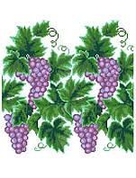"""Свадебный рушник """"Грона винограда"""" Рушник весільний. Схемы для вышивки бисером или нитками. Свадебные рушники"""