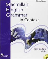 Macmillan English Grammar In Context Intermediate Pack with CD-ROM Key (грамматика с решениями)