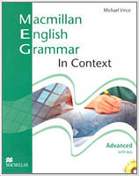 Macmillan English Grammar In Context Advanced Pack with CD-ROM Key (грамматика с ключами и диском)