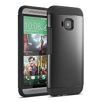 Чехол SGP Spigen Slim Armor для HTC One M9 Smooth Black