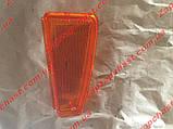 Розсіювач поворотника (скло) переднього Ваз 2108 2109 21099 лівий жовтий, фото 2