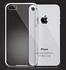 Прозрачный тонкий силиконовый чехол iphone 4/4s