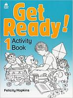 Get Ready! 1 Workbook/Activity Book (Рабочая тетрадь по английскому языку для детей)