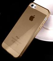 Силиконовый прозрачный чехол для iIphone 5/5S, фото 1