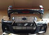 Комплект обвеса на Toyota Land Cruiser 200 Wald Black Bison Edition, фото 7