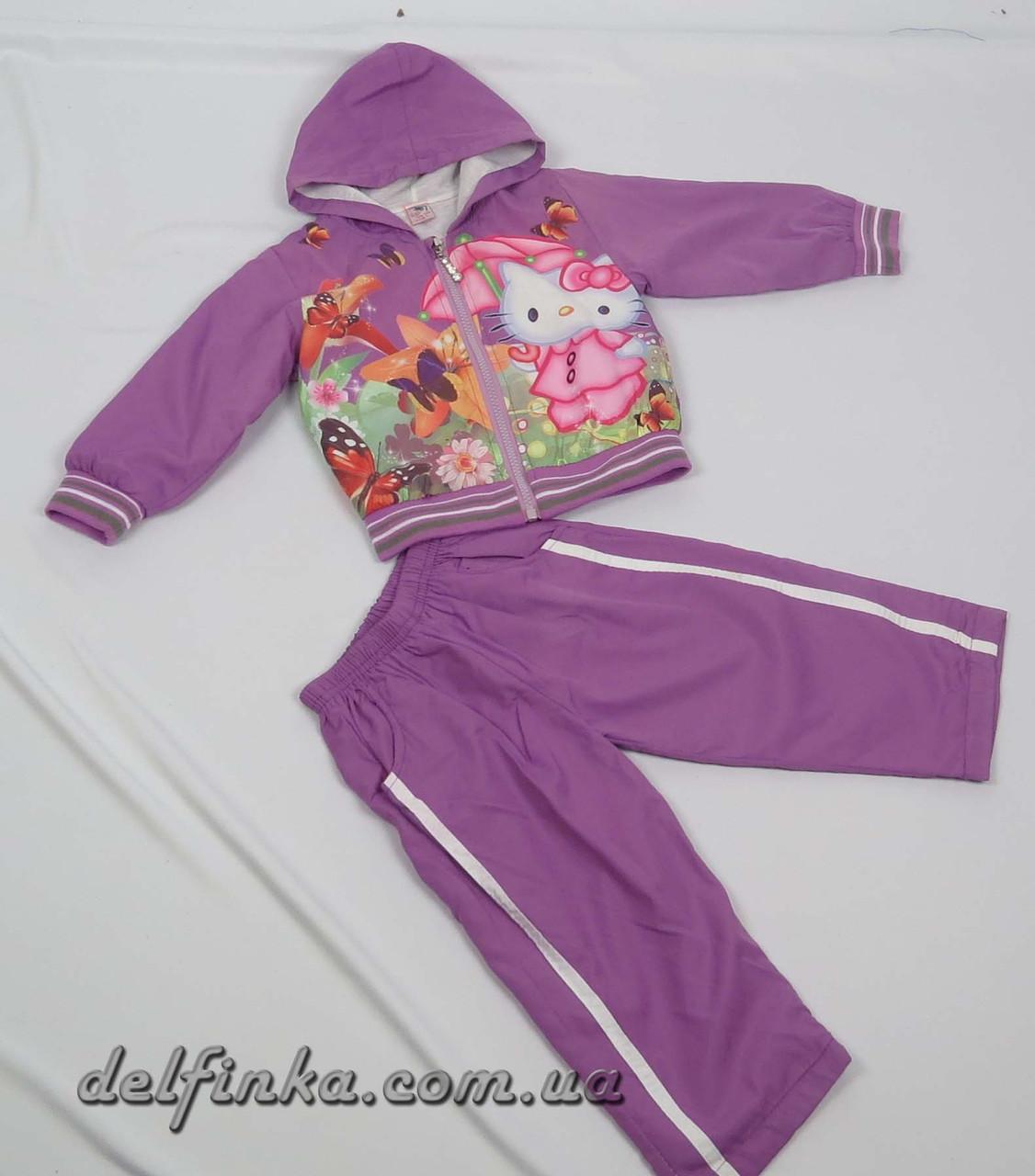 Костюм для девочки с 1 года до 3 лет, цвет: фиолетовый, фото 1