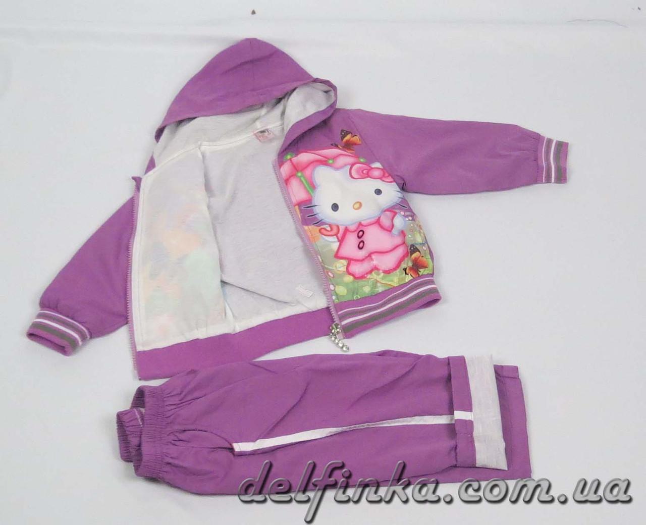 Костюм для девочки с 1 года до 3 лет, цвет: фиолетовый, фото 2