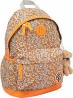 Рюкзак подростковый 1 Вересня Х166 ТМ Oxford оранжевый 552573