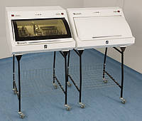 УФ камера для хранения стерильного инструмента ПАНМЕД-1С (670мм) с металлической сектор крышкой, фото 1