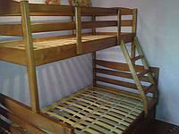 Деревянная 2-х ярусная кровать Ариша