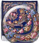 """Платок уплотненный Павлопосадский """"Цветы под снегом"""" рис 1099-14, фото 2"""
