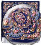 """Платок уплотненный Павлопосадский """"Цветы под снегом"""" рис 1099-14, фото 3"""