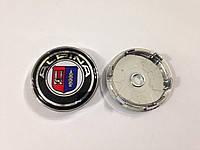 Заглушки колпачки литых дисков BMW 60мм Alpina