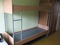 Кровати из ДСП на металическом каркасе