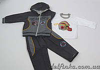 Костюм для мальчика с 1 года до 3 лет, цвет: серый, фото 1