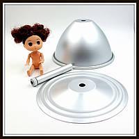 "Форма для выпечки ""Юбка для куклы + кукла"" (маленькая)"
