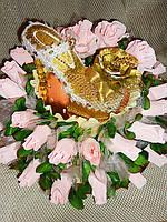 """Букет из конфет""""Туфелька для принцессы"""", фото 1"""