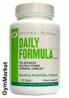 Витаминный комплекс Universal nutrition Daily Formula 100 caps