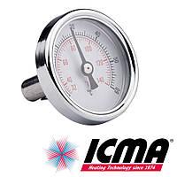 Icma 206 термометр фронтальный 0-120°C