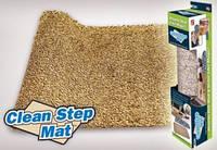 Придверный коврик Clean Step Mat с нескользящим основанием