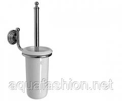 Подвесной ершик для унитаза в стиле ретро Paccini&Saccardi Rome 30059 хром