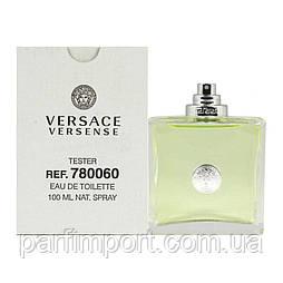 Versace Versense EDT 100 ml TESTER Туалетная вода женская (оригинал подлинник  Италия)