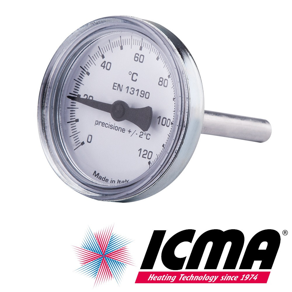 Icma 134 термометр для антиконденсационного клапана 0-120°C
