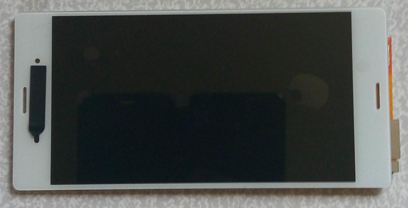 Дисплей модуль Sony Xperia Z3 D6603, D6633 в зборі з тачскріном, білий
