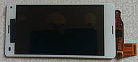Sony Xperia Z3 Compact D5803 D5833 Mini дисплей + сенсор модуль оригінальний тестований білий