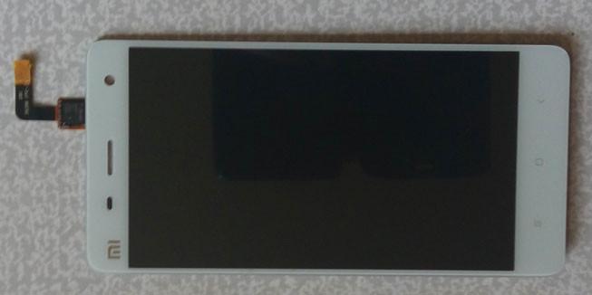 Дисплей Xiaomi Mi4 модуль в сборе с тачскрином, белый