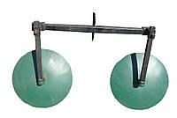 Окучник дисковый Ø 450 на двух подшипниках (двойная сцепка)