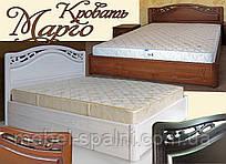 """Кровать двуспальная деревянная """"Марго"""" kr.mg3.1"""