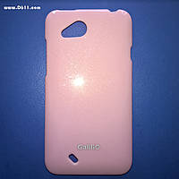 Чехол GaliliO Silicon Case для HTC Desire VC (T328d) light pink
